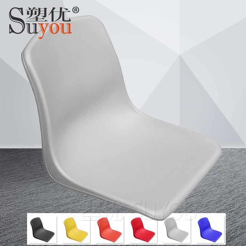 一体成型塑料座聚丙烯PP塑胶坐板座椅凳面 SY404