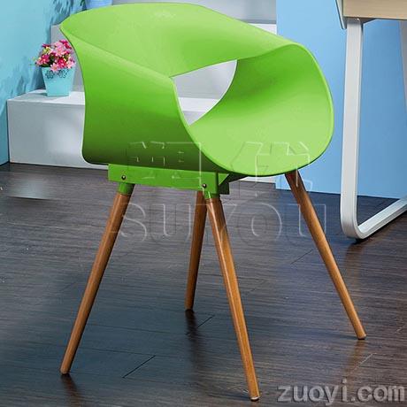 个性造型会客椅时尚洽谈椅卧槽式漂亮茶餐厅座椅 SY6468